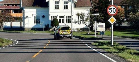 LETEAKSJON: Politiet rykket ut da de fikk melding om at et barn var savnet fra hjemmet sitt.