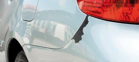 Eieren av bilen oppdaget skaden i dag.