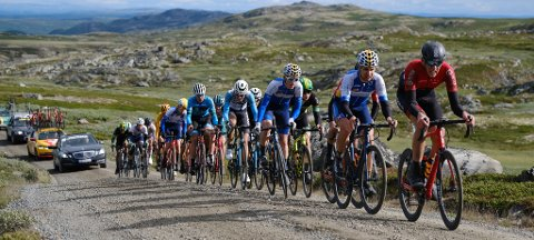 Fjellritt: Flere av etappene på Tour Te Fjells foregår på fjellovergangene mellom Hallingdal og Valdres