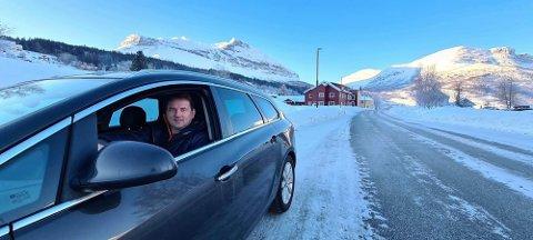 SPENT: Ordfører Vidar Eltun i Vang er spent på hvem som legger inn anbud på prosjektet Turtnes-Øye.