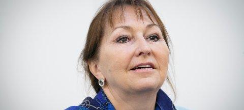 TUNGE FORMULERINGER: - Byråkratiet har hatt en skrivestil som har vært preget av tunge formuleringer, sier styreleder i KS, Gunn Marit Helgesen.
