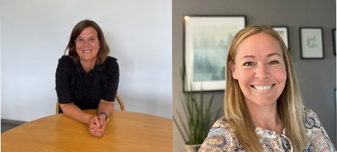 NYE: Anne Berit Jordet (50) fra Kongsberg er ny rektor på Vestfossen ungdomsskole, mens Anette Vislie (38) fra Sande er  den nye rektoren på Skoger skole.