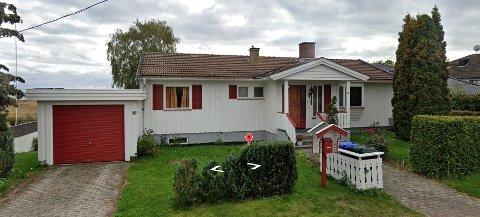 HISTORIE: Huset i Strandveien var et typisk 70-talls hus.