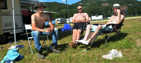 Erik Førland, Eystein Strand og Karsten Wahl