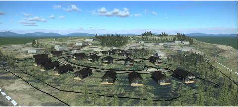 Skeislia familietun får hyttefolket på Skei til å steile. De advarer kommunen mot å tillate ekstrem fortetting og dermed fjerne idyllen i eksisterende hytteområder.