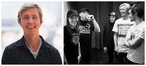 FRA PUNK TIL PSYKOLOGI: Lars Dehli var vokalist i The Good The Bad And The Zugly. De siste årene har han drevet egen psykologpraksis.