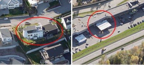 Hus på Stoppenkollen og bensinstasjon på Liertoppen ble solgt for mest i november.