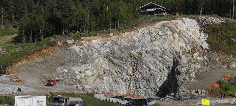 Strenge krav: Tunnelarbeidet i Bagnskleiva skal utføres på en slik måte at den belaster miljøet rundt minst mulig. Foto: Ingvar Skattebu
