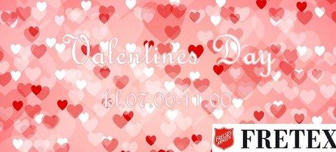 Shoppingmorgen med frokostservering Valentines Day, 14. februar, fra kl.07.00!