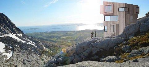 Sandnesjøen og omegn Turistforening hadde planer om å bygge en spektakulær turisthytte i de Syv Søstre. Nå er planene lagt på is.