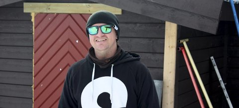 Christoffer Hove kjøpte Ringkollen Parken, og har store drømmer for parken. Målet er å bygge Norges beste terrengpark.