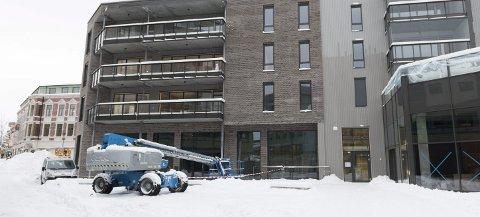Sentrumsbygg: Det er utbyggingsinteressene som regulerer og definerer bebyggelsens utnyttelse, høyder og utseende, hevder Jan Solgård i dette innlegget. Illustrasjonsfoto: Frode Johansen