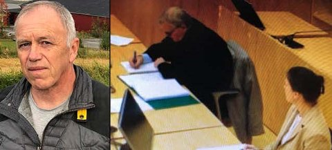 LANGVARIG KONFLIKT: Karl Erik Melby krever å få jobben som daglig leder tilbake. Til høyre, styreleder i Skjærdalen Eiendom AS, Beate Rognlid og selskapets prosessfullmektig, advokat Torbjørn Schade.