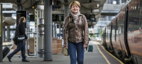 NAIV: Elisabeth Nordli mener selv at hun var litt naiv da hun gikk inn i jobben som planleggingssjef for InterCity Østfoldbanen. Men hun angrer ikke for med signalene om vilje til satsing som kom fra Stortinget, var dette noe hun ville være med på.