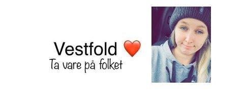 Julie Daffinrud Kittelsen (25) startet Facebook-gruppen «Korona hjelp Vestfold».
