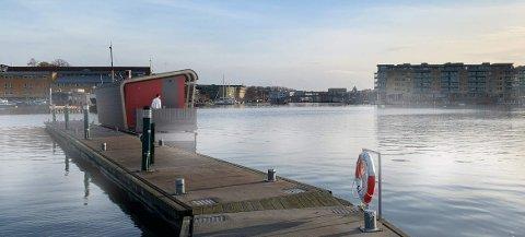 HELÅRSDRIFT: Slik ser Sjøbadet AS for seg den nye badstuflåten i Gjestehavna.