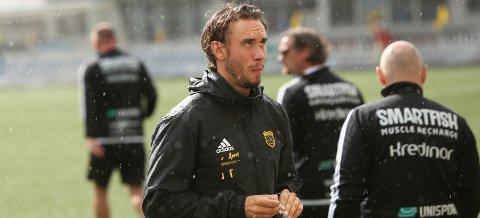 SKUFFET: Bærum-trener Luke Torjussen var svært skuffet etter lørdagens tap.