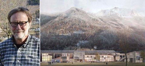 MØTE: Daglig leder i Hardanger Lift AS, Kjetil Johnsen, inviterer til folkemøte om pendelbaneprosjektet. Der skal flere aktører informere om prosjektet med å bygge en bane fra skalltaket til Rossnos.