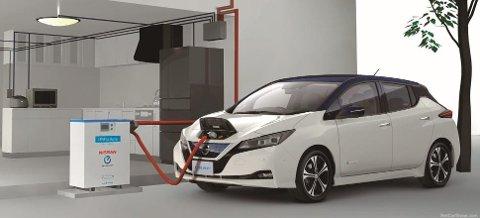 Nissan var tidlig ute med sin elektriske Leaf. Dette er andre generasjon som akkurat nå er Norges mest solgte nybil.