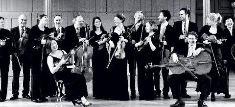 KAMMERORKESTER: Camerata Bern holder konsert i Kongsberg kirke lørdag 28. januar.