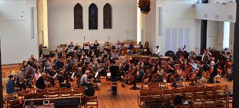 Orkesterkollektivet på en tidligere konsert i Nordstrand kirke
