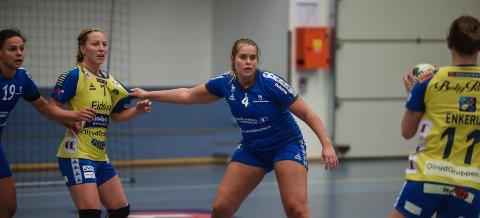 Lisa Sydbøge og Gjøvik HK møtte overmakten borte mot Fana. Arkivbilde