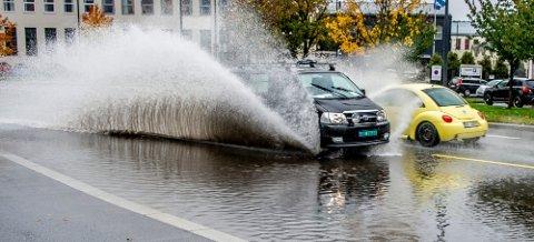 Vått: Søndag skal det ifølge værmeldingen regne uten stopp gjennom hele dagen.