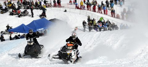 LEGGER OM: Den 17. mars kjøres årets runde med Hillclimb på Skillevollen. Denne gangen kommer Rana motorsportklubb med et helt nytt konsept. Foto: Øyvind Bratt