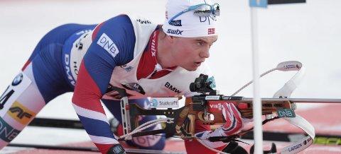 B&Y ILs Fredrik Gjesbakk har vært en av Norges beste skiskyttere i mange år, men har aldri klart å ta det siste store steget. Nå er drømmen om internasjonale medaljer over. Han legger opp. Foto: Berit Roald
