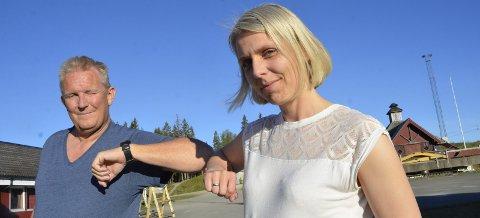 Grethe Mari Mathisen er ny leder i hovedlaget i B&Y IL. Hun avløser Trond Olsen som har sittet i lederstolen siden 2007. Olsen fortsetter som leder av fotballgruppa. Han er også nestleder i Nordland Idrettskrets. Foto: Trond Isaksen