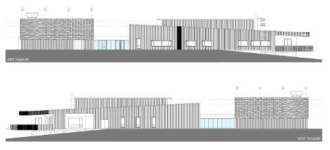 NYTT TILBYGG: En av illustrasjonene av det nye tilbygget på Prøysenhuset.