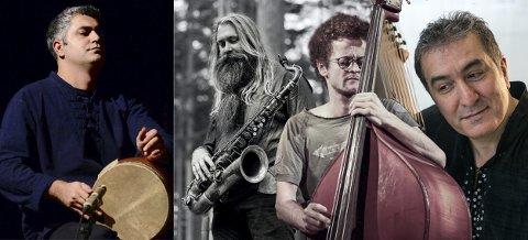 Konsert: med Javid Afsari Rad Trio er det hos Galleri Fjellsol søndag klokka 19.