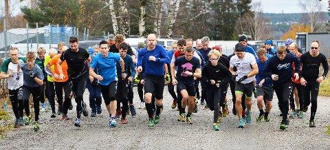 DELTAKERE: Det var 41 deltakere i Torsdagsløpet denne uken.
