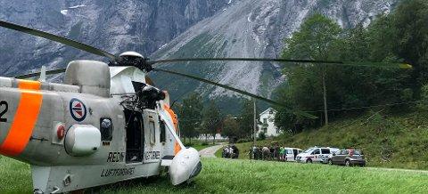 To tsjekkiske klatrere ble funnent livløse nedenfor Trollveggen mandag ettermiddag.