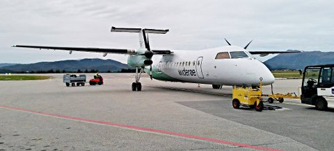 Nå kommer det fram at den smittede arbeideren kom med fly fra Bergen (WF576) torsdag kveld. (Illustrasjonsfoto)