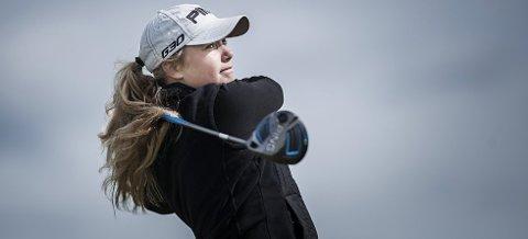 PENGESPILL: Celine Borge har hittil i når 9000 innspilte dollar etter turneringen i Indiana, USA.