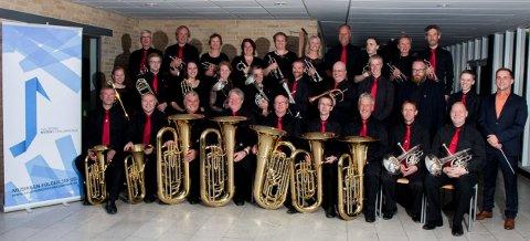 Dette bildet er fra i fjor da de vant Aalborg Musikkonkurrence i Danmark