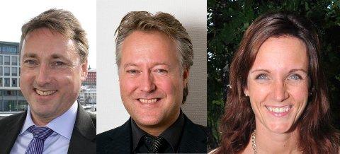 PERSONSTEMMER AVGJØR:Venstres tre kumulerte kandidater som kniver om to plasser i det nye kommunestyret; f.v. Inge Solli, Egil Hjorteset og Berit Halvorsen Bjørgan.