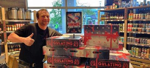 Stian Kristensen fra Gulating Bodø kommer til Mo på lørdag.