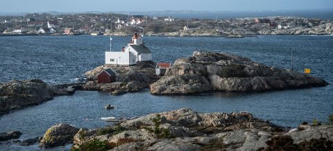 POPULÆRT: Homlungen fyr ytterst i havgapet på Hvaler er en svært populær kystledhytte.