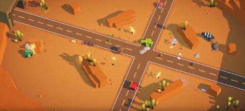 SPILL: «Tanknarok» er et Hamar-produsert spill. Det kan prøves i sal 2 lørdag 16. mars.