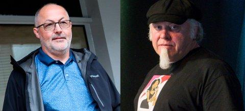 Samde: Både Tom Jøran Johnsen og Stein Egil Legård gler seg til å ta i mot folk, men synest kravet om skjenkestopp klokka ti er unødvendig.