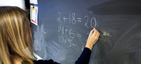 For få: SP frykter at lærermangelen vil øke i årene framover basert på fire vedtak som regjeringen har gjort, skriver artikkelforfatteren. ill.foto: ntb scanpix
