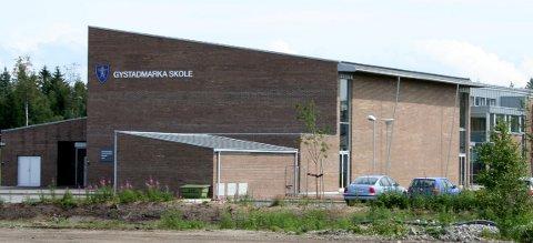 ELEV SMITTET: I helgen testet en elev ved Gystadmarka skole positivt for koronaviruset.