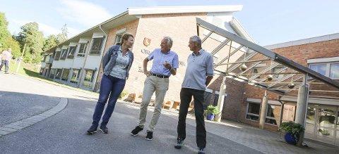 Vil ikke mer: Legene Linda Gathen, Lorentz Nitter og Knut Lindhom vil vekk fra Orkerød sykehjem. De mener fagmiljøet nesten blitt borte etter at driften ble privatisert.
