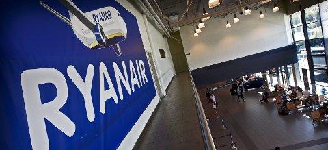 FORTSATT VEKST: Ryanair opplever en passasjervekst på sju prosent i juni.