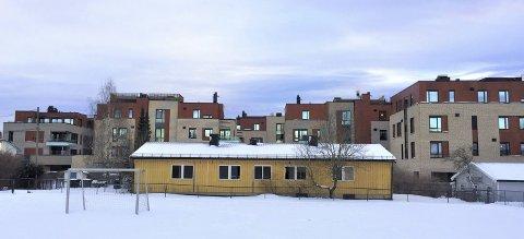 SÆTER BARNEHAGE: Det gule bygget fra 1955 skal rives.