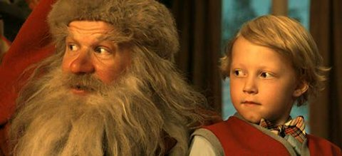 SUKSESSFILM: Thias Salberg og Anders Baasmo Christiansen i «Snekker Andersen og Julenissen». (Foto: Fantefilm/Nordisk Film Distribusjon)