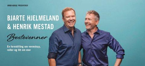 Kollegaer og bestevenner, Bjarte Hjelmeland og Henrik Mestad.