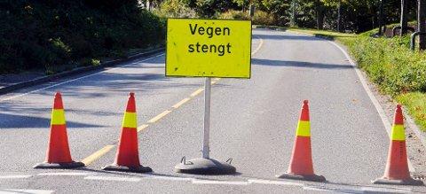 Se oversikten over hvilke veier som er midlertidig stengt eller har redusert fremkommelighet. Arkivfoto: Per Gilding